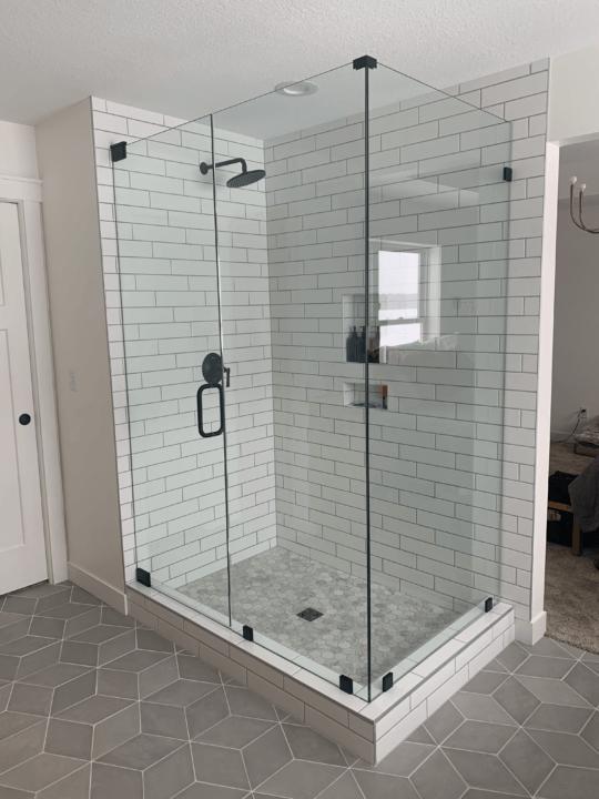 Frameless Shower Doors Glass And, Corner Shower Frameless Glass Doors